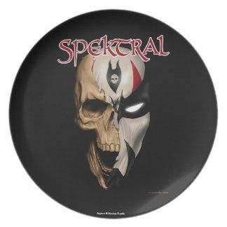 "Spektral ""Dead or Alive"" Plate"