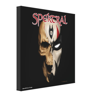 """Spektral """"Dead or Alive"""" Wrapped Canvas Stretched Canvas Prints"""