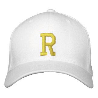 Spell it Out Initial Letter R Ball Cap Baseball Cap