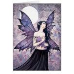 Spell of Night Fairy Greeting Card