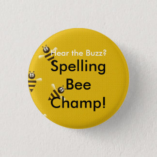 Spelling Bee Champ Button