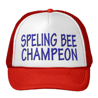 Spelling Bee Champ Cap