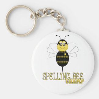 Spelling Bee Champ Keychain