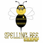 Spelling Bee Champ Ornament Photo Sculpture Decoration
