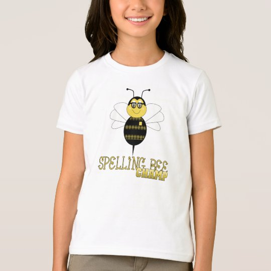 Spelling Bee Champ Shirt
