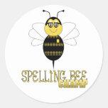 Spelling Bee Champ Sticker