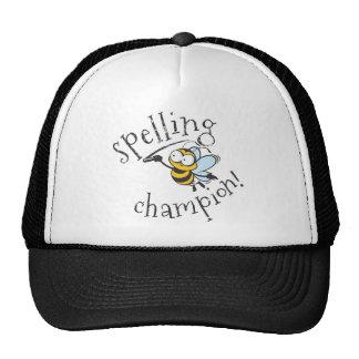 Spelling Bee Champion Cap