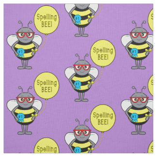 Spelling Bee First Prize Fabric