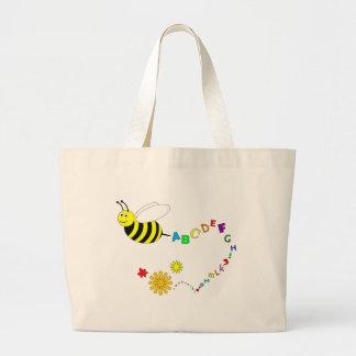 Spelling Bee Large Tote Bag