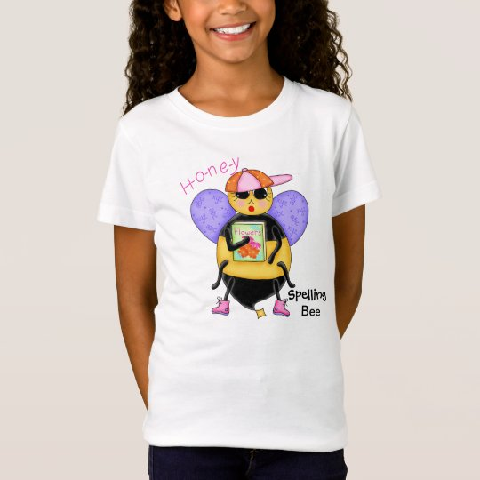 Spelling Bee Whimsy Honey Bee Yourself Art T-Shirt