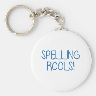 Spelling Rools! Keychain