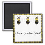 SpellingBee Bumble Bee Customisable Magnet