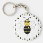 SpellingBee Bumble Bee Keychain