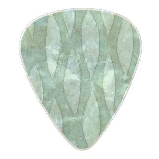 Spellstone Cypress Pearl Celluloid Guitar Pick