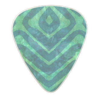 Spellstone Fir Pearl Celluloid Guitar Pick
