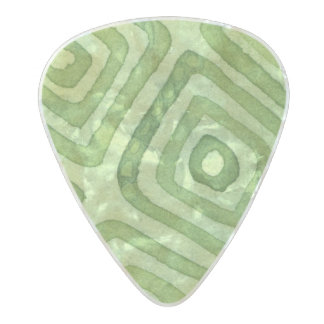 Spellstone Grass Pearl Celluloid Guitar Pick