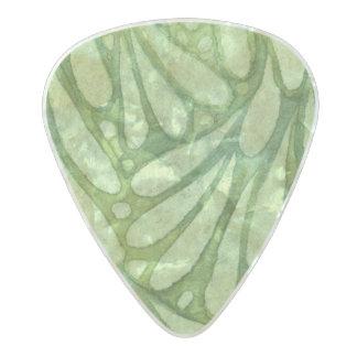 Spellstone Laurel Pearl Celluloid Guitar Pick
