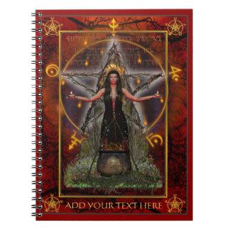 Spellweaver Notebook (Custom Red)