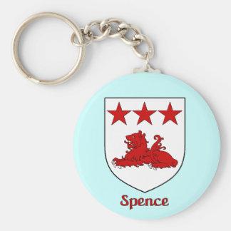 Spence Family Shield Keychain