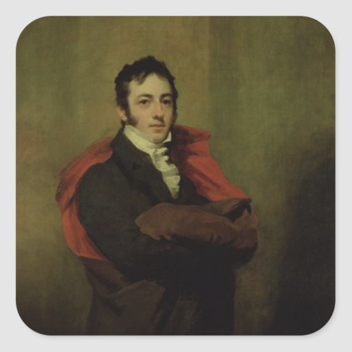 Spencer, 2nd Marquess of Northampton, 1821 Sticker