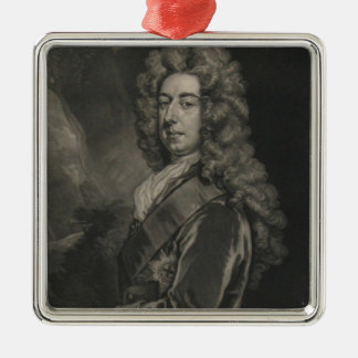 Spencer Compton, Earl of Wilmington Silver-Colored Square Decoration