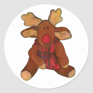 Spencer Reindeer Sticker