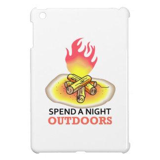 SPEND A NIGHT OUTDOORS iPad MINI COVERS