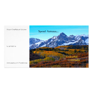 Spend Autumn in Colorful Colorado Photo Card