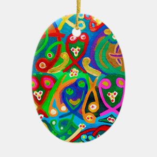 SPERM Dance - Sensual Artist Imagination Christmas Ornament