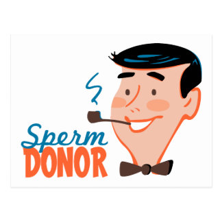 Sperm Donor Postcard