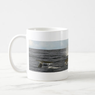 Sperm whales in the Azores Coffee Mug