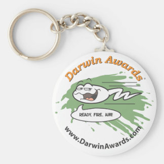 Spermatozoid Keychain: Ready, Fire, Aim! Basic Round Button Key Ring