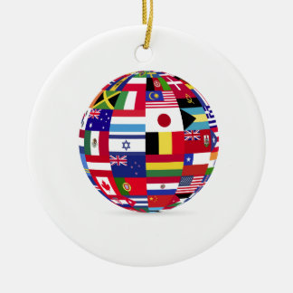 sphere flags many [Converted].jpg Round Ceramic Decoration