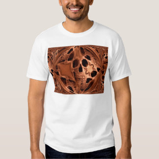 Sphere Wrap Skull Sculpture by KLM Tshirt
