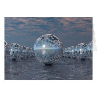 Spheres In The Sun Card