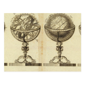 Spheres of the Globe Postcard