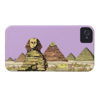 Sphinx and a Pyramid Case-Mate iPhone 4 Cases