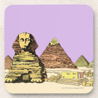 Sphinx and a Pyramid Coaster