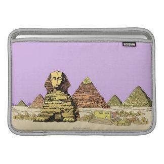 Sphinx and a Pyramid MacBook Sleeve