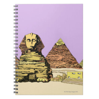 Sphinx and a Pyramid Notebook