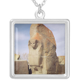 Sphinx gate, 1450-1200 BC Silver Plated Necklace