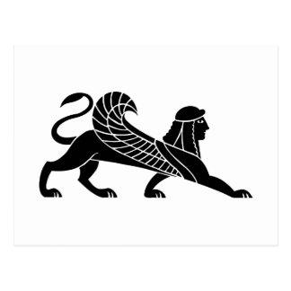 Sphinx, Greek relief design Postcard