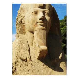 Sphinx - Memphis  EGYPT New Kingdom Postcard