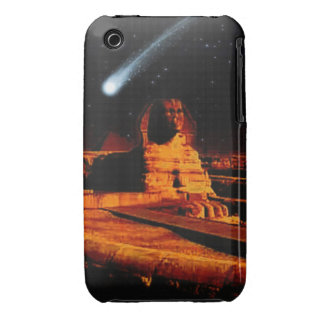 Sphinx & Moon over Egyptian Giza Pyramids Art Case iPhone 3 Case-Mate Cases