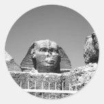 Sphinx Round Stickers