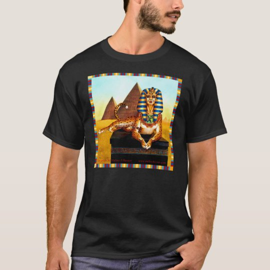 Sphinx with Golden Eyes T-Shirt