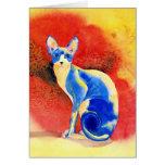 Sphynx Cat #1 Greeting Cards
