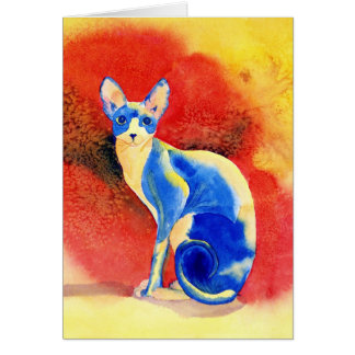 Sphynx Cat #1 Greeting Cards