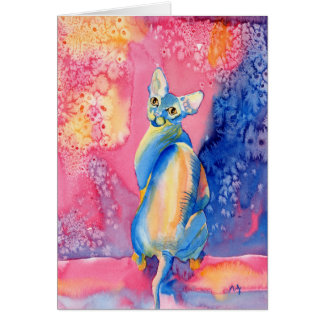 Sphynx Cat #2 Greeting Cards