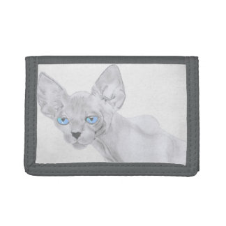 Sphynx Cat Art Wallet